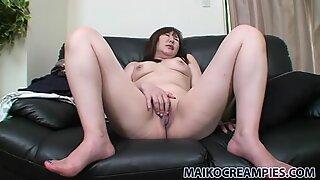 Bangsa jepun fricatrice junko ishikura suka seks jari pussynya