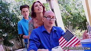 Mature blonde milf hairy Awesome 4th Of July Threesome - Monique Alexander