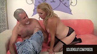 Golden Slut - Older Ladies Show off Their Cock Sucking Skills Compilation 21