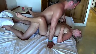steaming fledgling wifey sucks cock on vacation