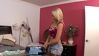 A young Mia Malkova 69s with cougar