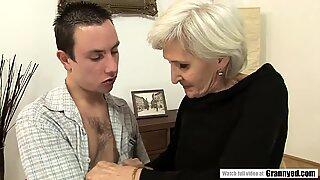 Blonde Spinner GILF Viviana Tastes some Young Dick